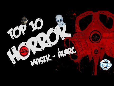 TOP 10 HORROR ÁLARC/MASZK - Legjobb Horror álarcok