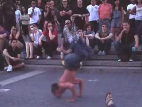 Great Street Entertainer Amazing Show The Amazing Danny New York City Part 1 Union Square Park