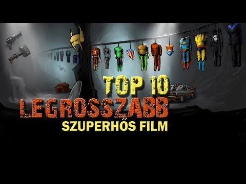 TOP 10 Legrosszabb Szuperhős Film
