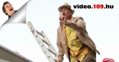 Vicces rejtett kamerás videó dacos csínytevés