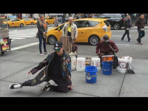 Fantasztikus utcai tánc, utcai zenére