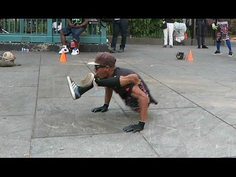 Crazy NYC Street Performers