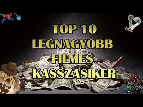Top 10 - Legnagyobb Filmes Kasszasiker ( TOP MOVIES )